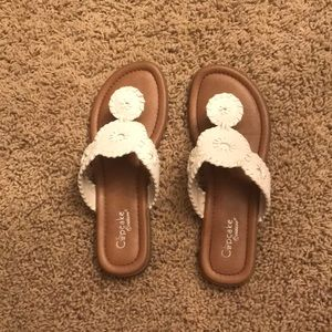 Cupcake Couture kids sandals
